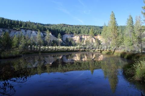 Reflections at Malakoff Diggins