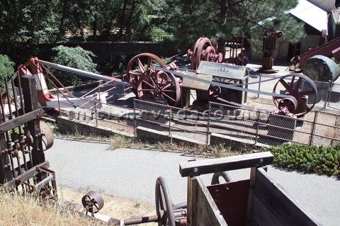 Mining machinery at North Star Powerhouse