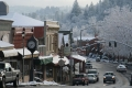 Main Street in Snow, downtown Grass Valley