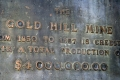 Gold Hill Mine Plaque